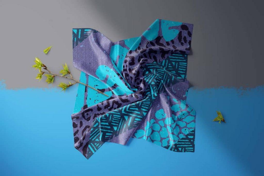 چاپ شال و روسری